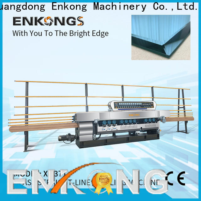 Enkong good price glass beveling machine series for glass processing