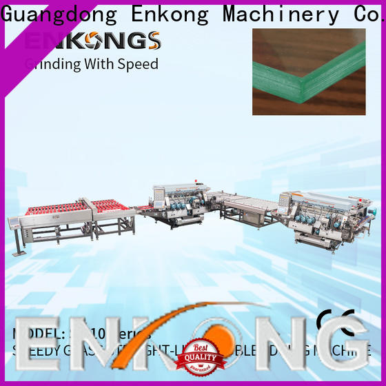quality double edger machine SM 10 series for round edge processing