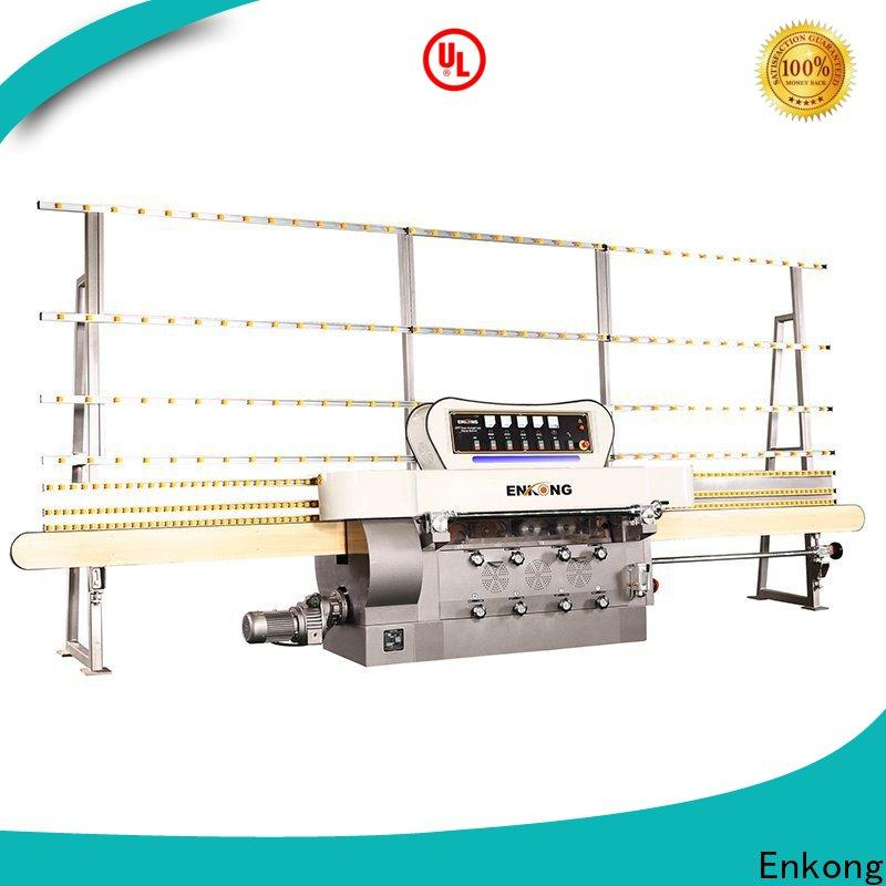 Enkong zm7y glass edging machine supplier for fine grinding
