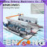 Enkong SM 26 glass double edging machine factory direct supply for round edge processing