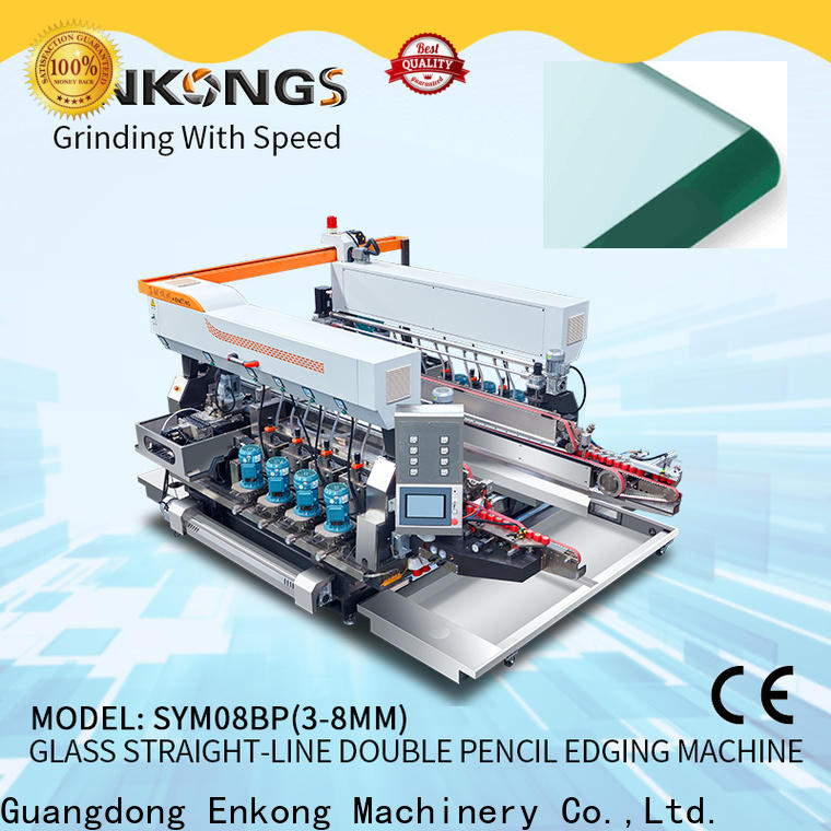 Enkong real glass double edging machine wholesale for photovoltaic panel processing
