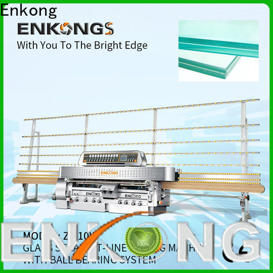 Enkong 45° arrises glass machinery factory direct supply for processing glass
