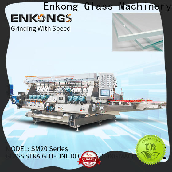 Enkong modularise design double edger machine factory direct supply for photovoltaic panel processing