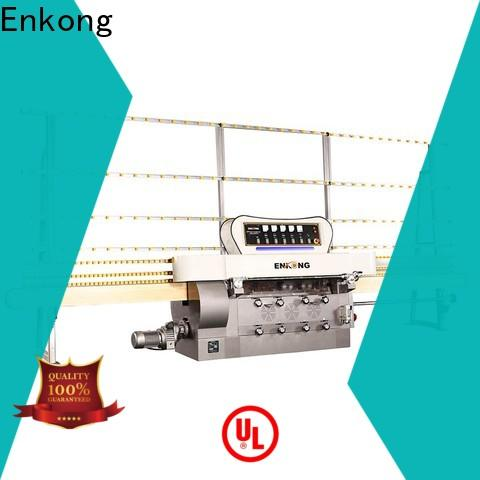 Enkong zm11 glass edge polishing customized for fine grinding