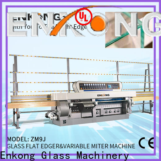 Enkong top quality glass mitering machine wholesale for grind