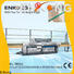 Enkong ZM11J glass mitering machine customized for grind