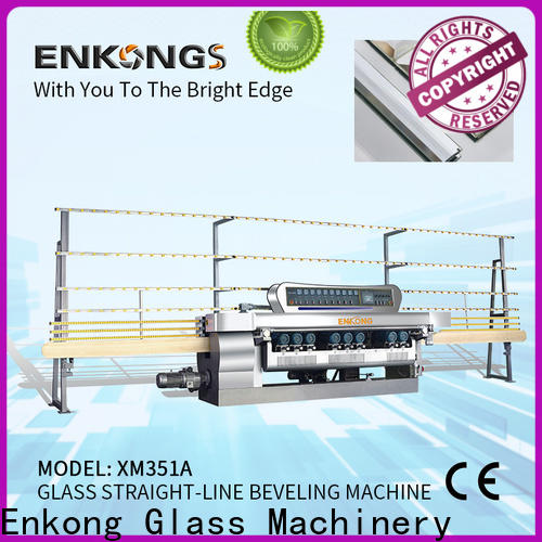 Enkong 10 spindles glass beveling machine for sale manufacturer for polishing