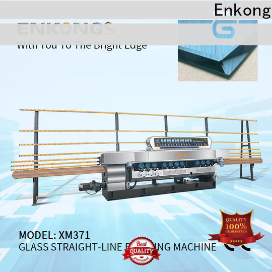 Enkong xm351a glass beveling machine for sale series for polishing