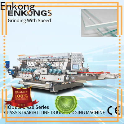 Enkong SM 10 double edger machine manufacturer for photovoltaic panel processing