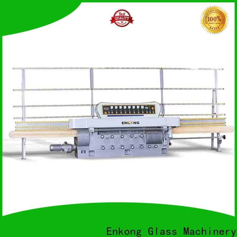 Enkong zm9 glass edge polishing machine wholesale for fine grinding