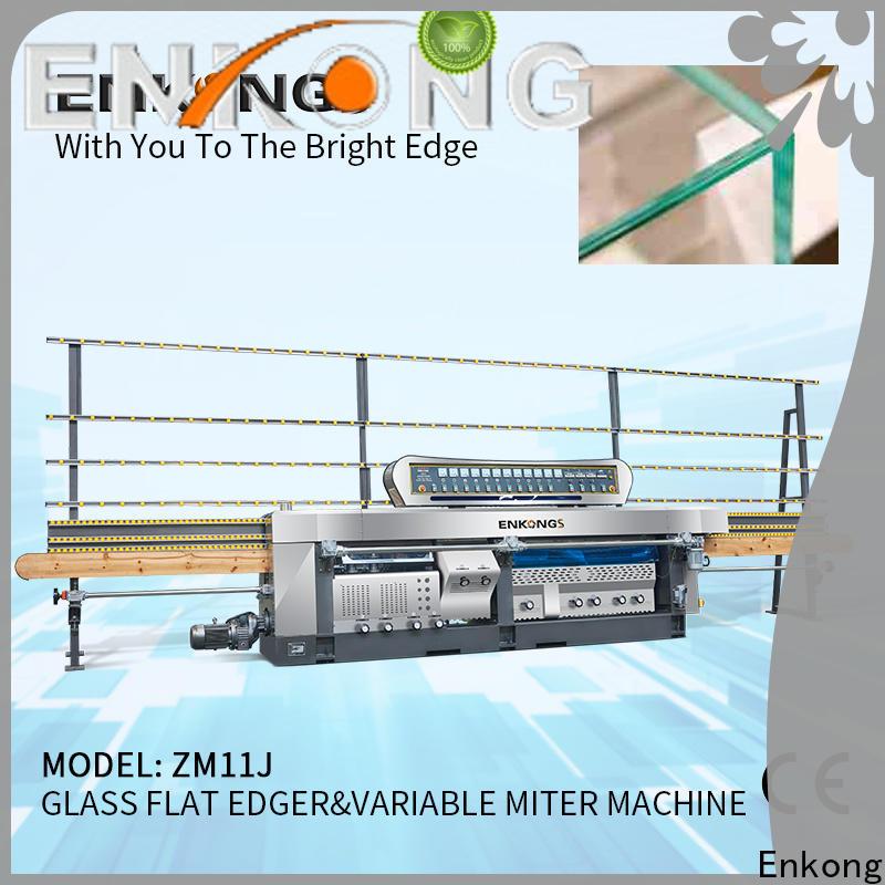 real glass mitering machine 5 adjustable spindles manufacturer for grind