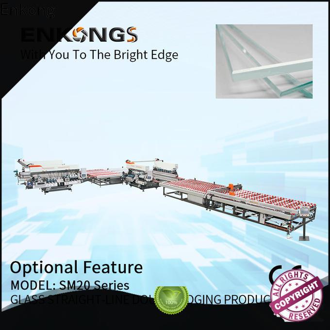 Enkong modularise design double edger machine manufacturer for round edge processing