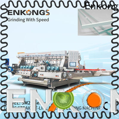 real glass double edging machine SM 22 manufacturer for photovoltaic panel processing