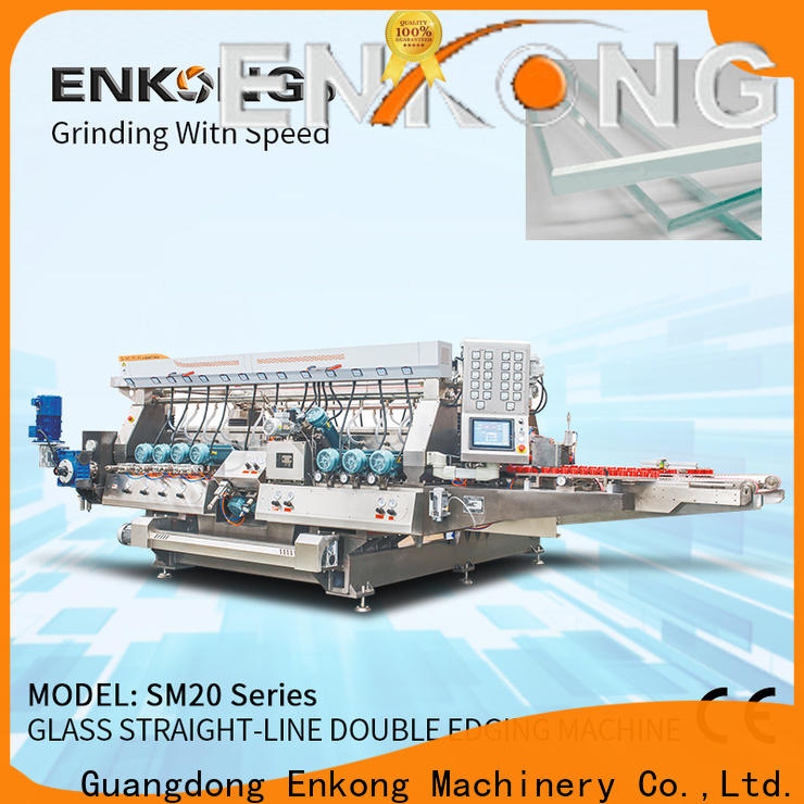 Enkong quality double edger supplier for photovoltaic panel processing