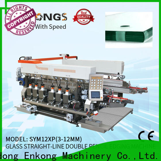 high speed glass double edging machine SM 22 series for household appliances