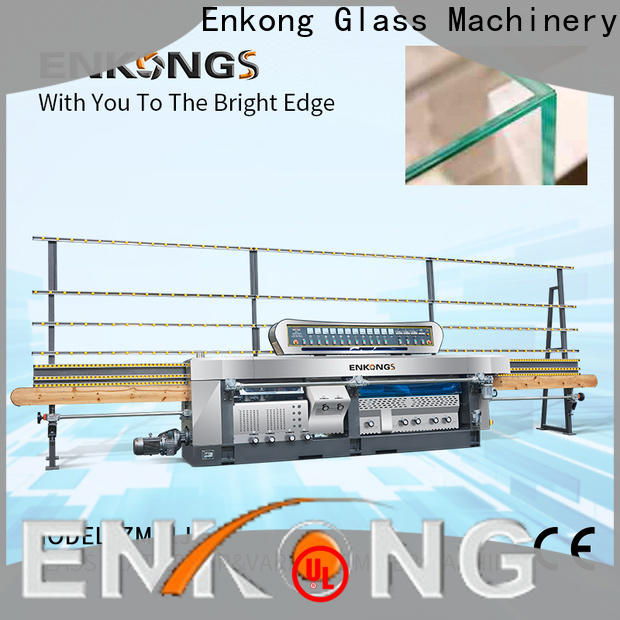 Enkong professional glass mitering machine customized for polish