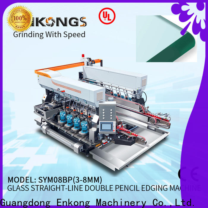 Enkong SM 26 double edger machine wholesale for photovoltaic panel processing