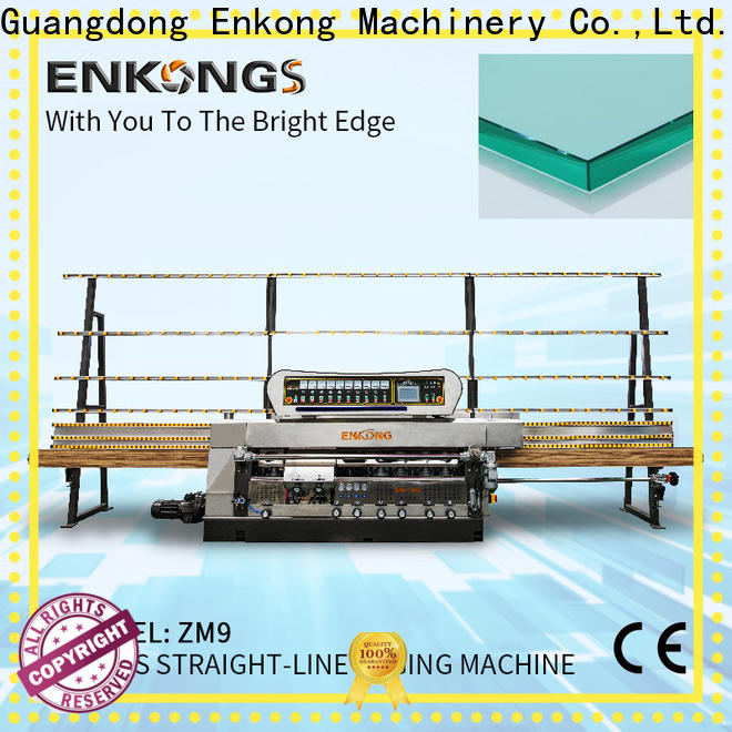 Enkong zm4y glass edge grinding machine customized for fine grinding