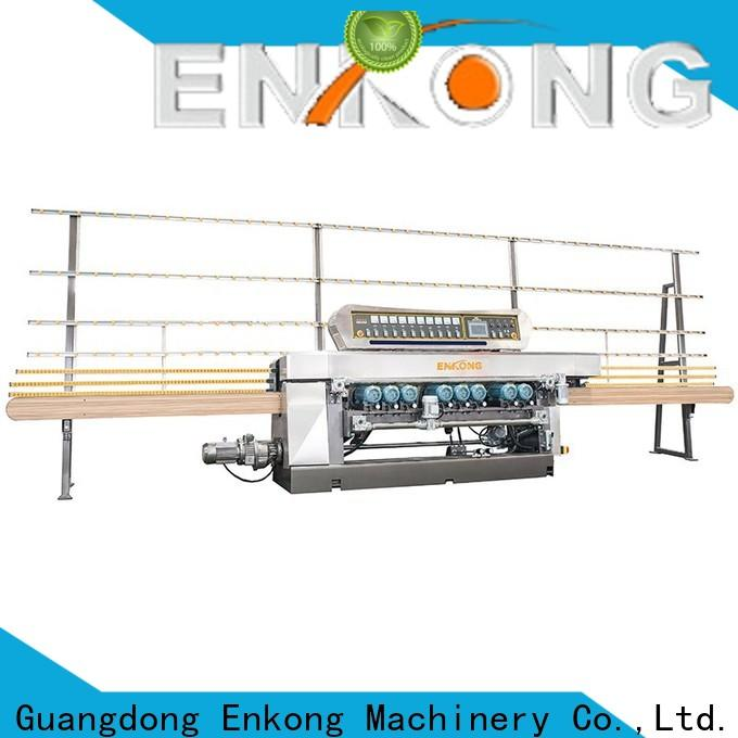 Enkong xm351a glass beveling machine for sale manufacturer for polishing