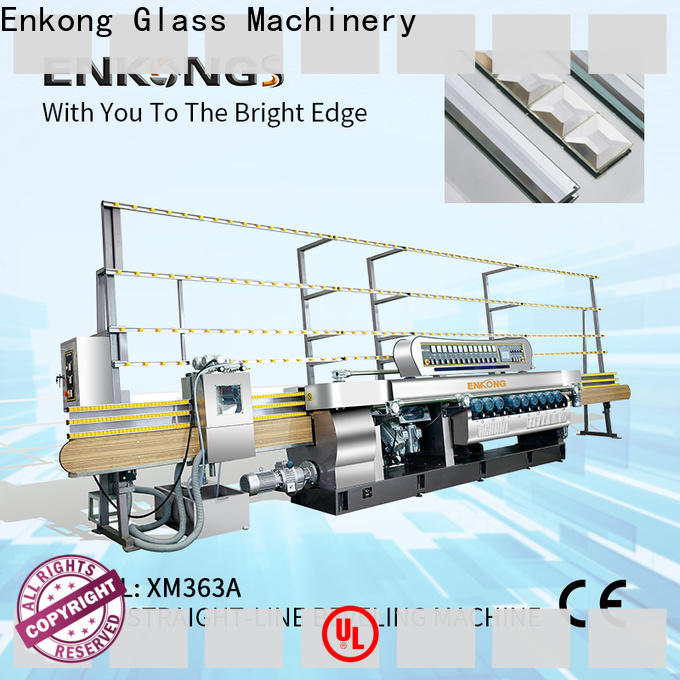 long lasting glass beveling machine for sale xm371 manufacturer for glass processing