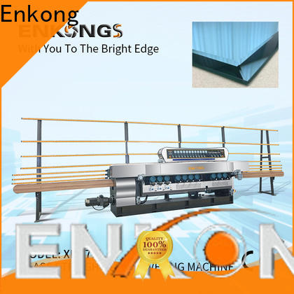 efficient glass beveling machine for sale 10 spindles factory direct supply for glass processing