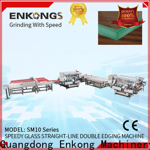 Enkong SM 22 double edger supplier for photovoltaic panel processing