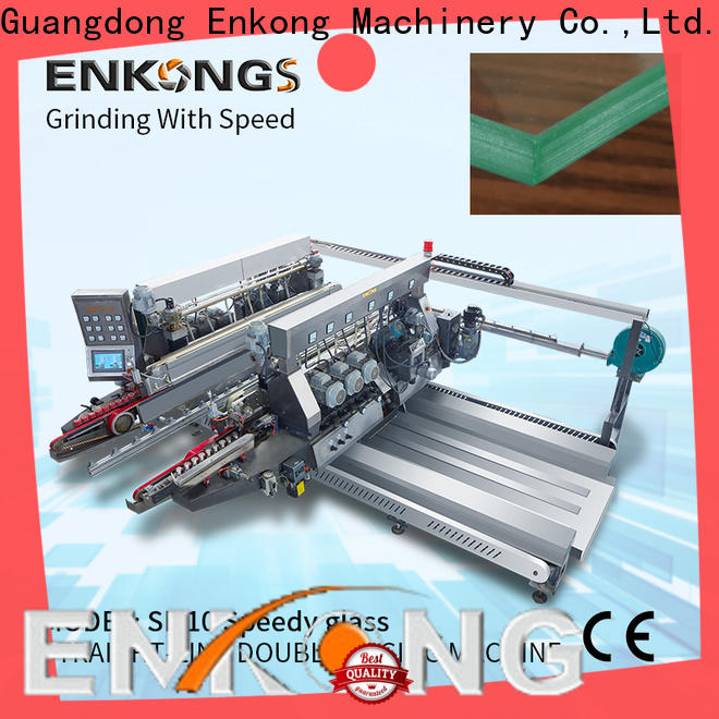 Enkong SM 10 double edger machine series for round edge processing