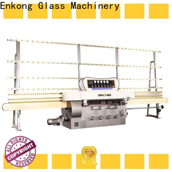 Enkong zm4y glass cutting machine price manufacturers for round edge processing