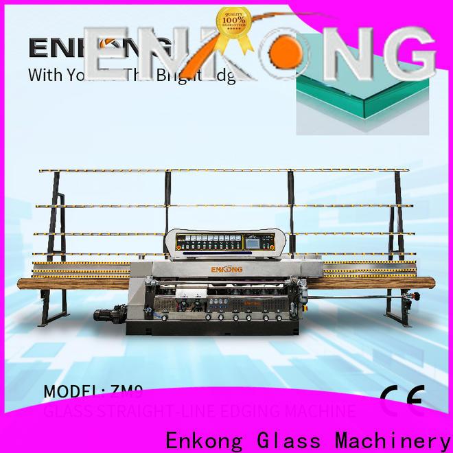 New portable glass edge polishing machine zm7y company for round edge processing