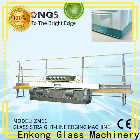 Enkong zm11 small glass edging machine supply for round edge processing