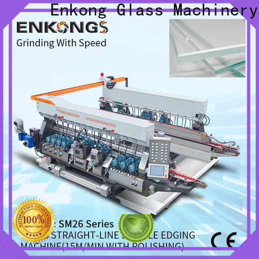 Enkong High-quality glass double edger machine factory for household appliances