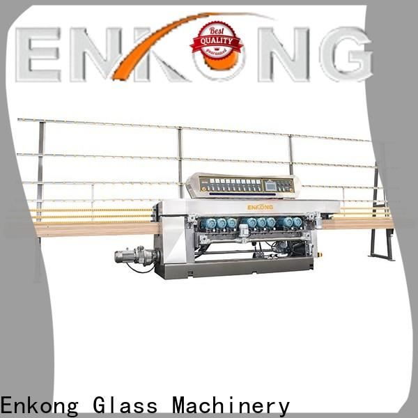 Custom glass beveling machine for sale 10 spindles company for glass processing