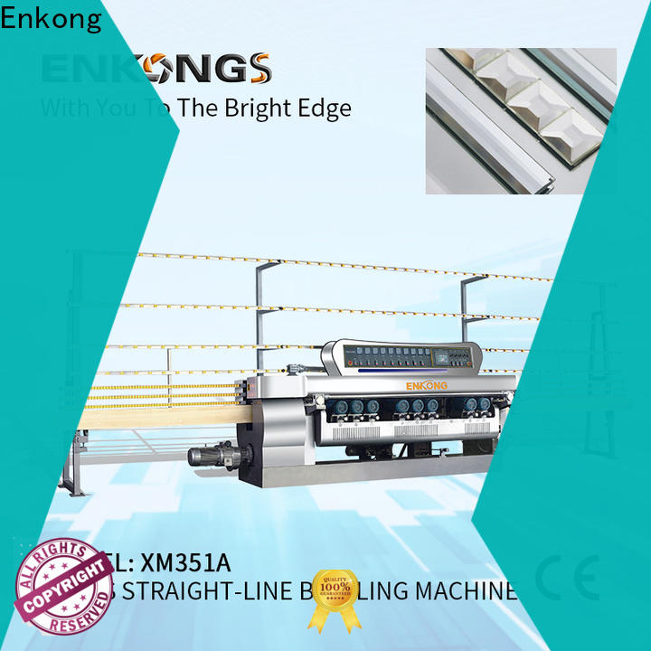 Latest beveling machine for glass xm351a company for glass processing
