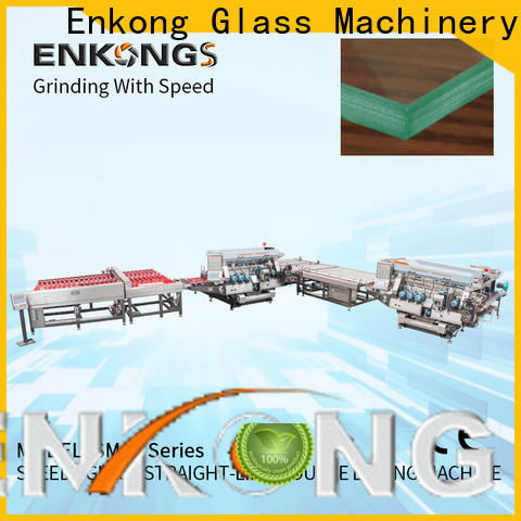 Enkong SM 22 glass double edger supply for household appliances