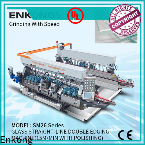 Enkong SM 26 small glass edge polishing machine for business for round edge processing