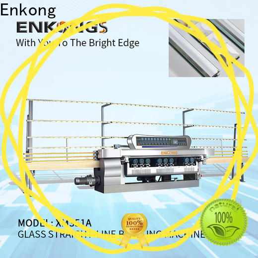 Enkong xm351a glass beveling machine price supply for polishing