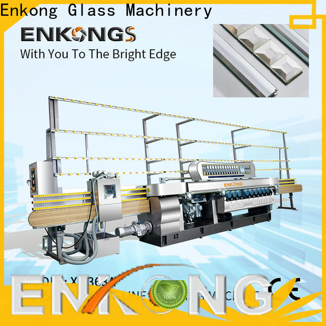 Enkong Wholesale glass beveling machine for business for polishing