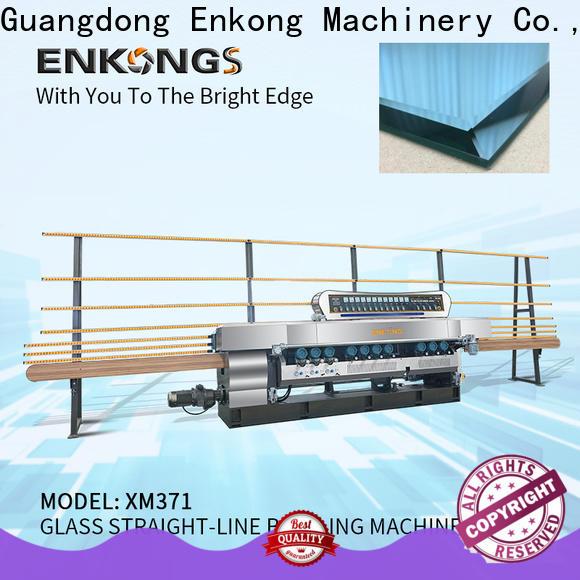 Enkong xm351a glass beveling equipment manufacturers for polishing