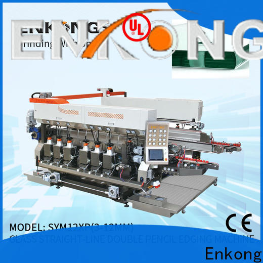 Enkong New double edger machine factory for round edge processing