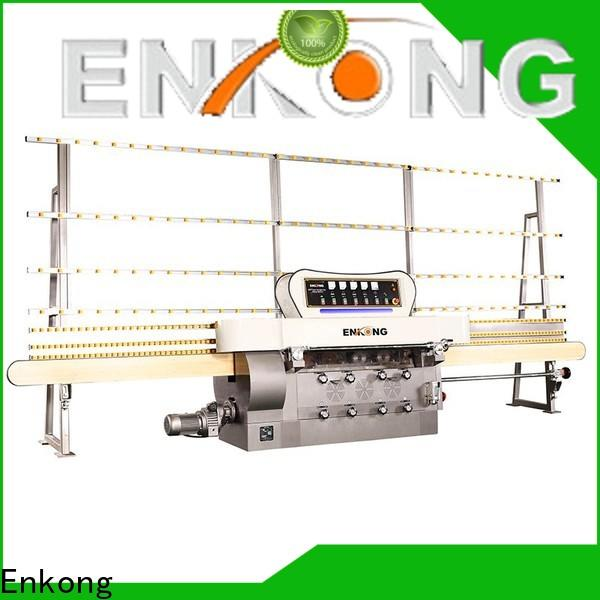 Enkong zm4y portable glass edge polishing machine manufacturers for photovoltaic panel processing
