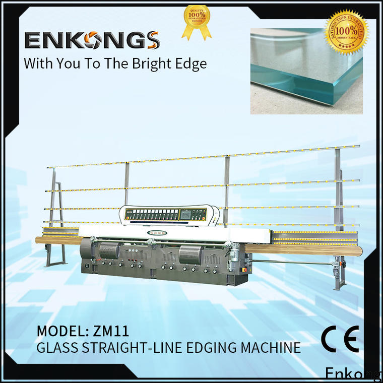 Enkong High-quality glass straight line edging machine supply for household appliances