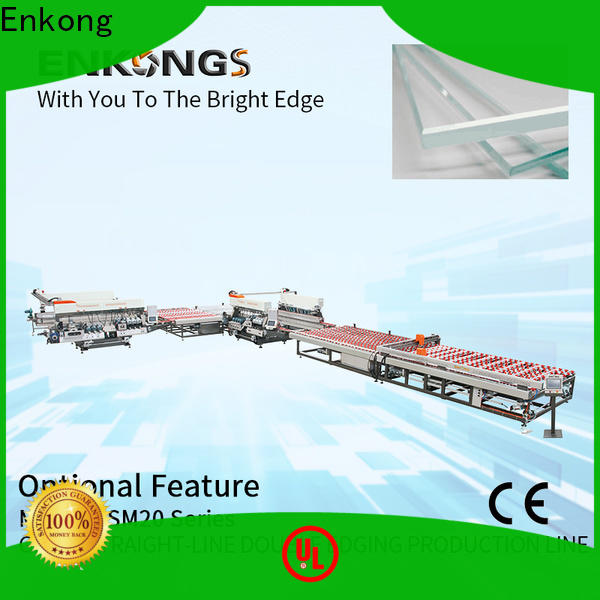 Enkong SM 10 glass double edging machine company for household appliances