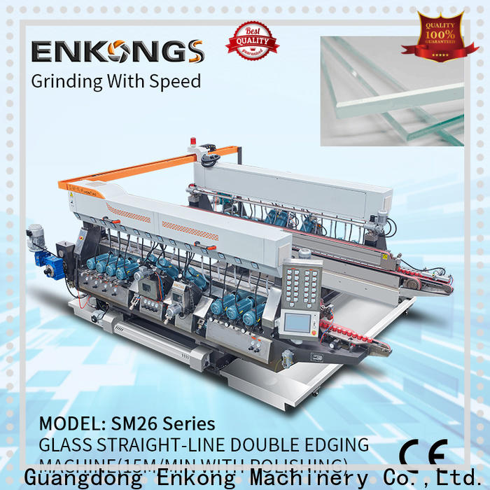 Enkong Top double edger for business for round edge processing