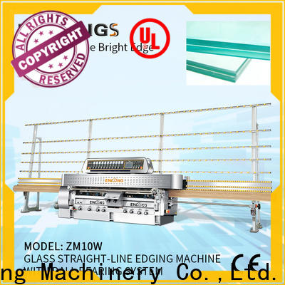 Wholesale double glazing glass machine with ABB spindle motors company for polish