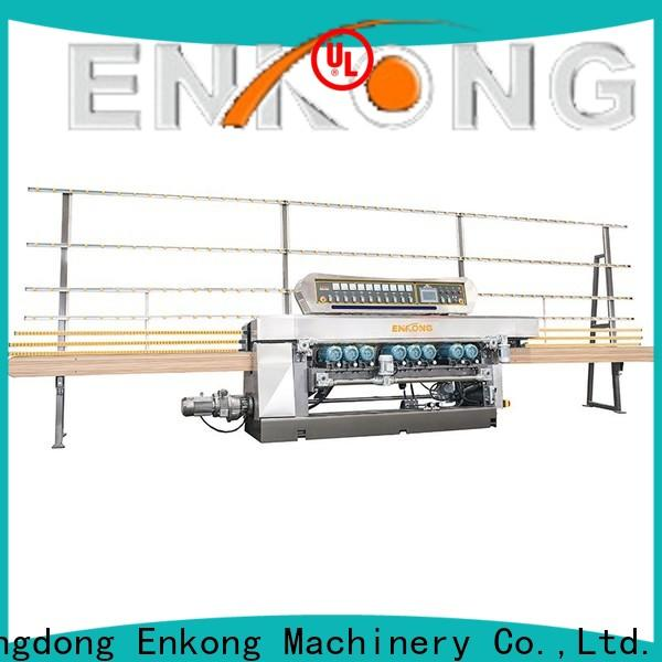 Enkong xm351 glass beveling machine suppliers for polishing
