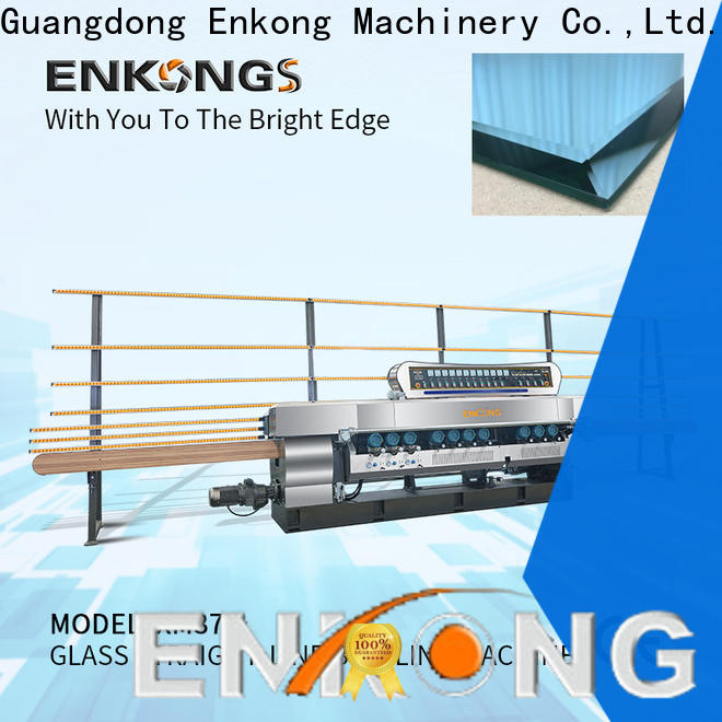 Enkong Latest glass beveling machine price company for glass processing