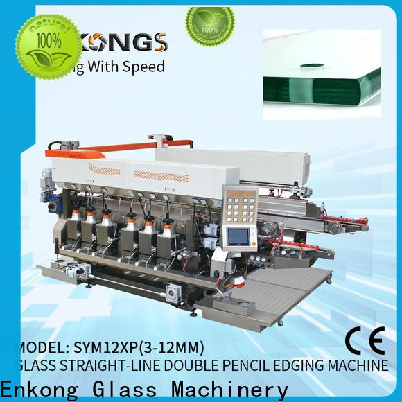 Enkong SM 26 small glass edge polishing machine factory for round edge processing