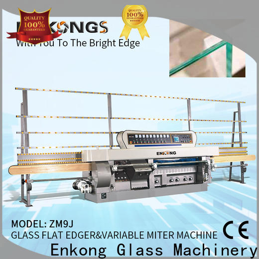 Enkong New glass mitering machine company for household appliances