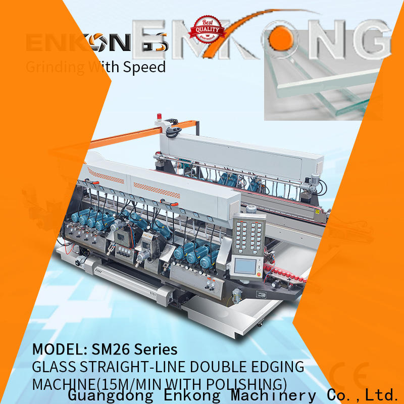 Enkong Latest glass edging machine suppliers supply for photovoltaic panel processing