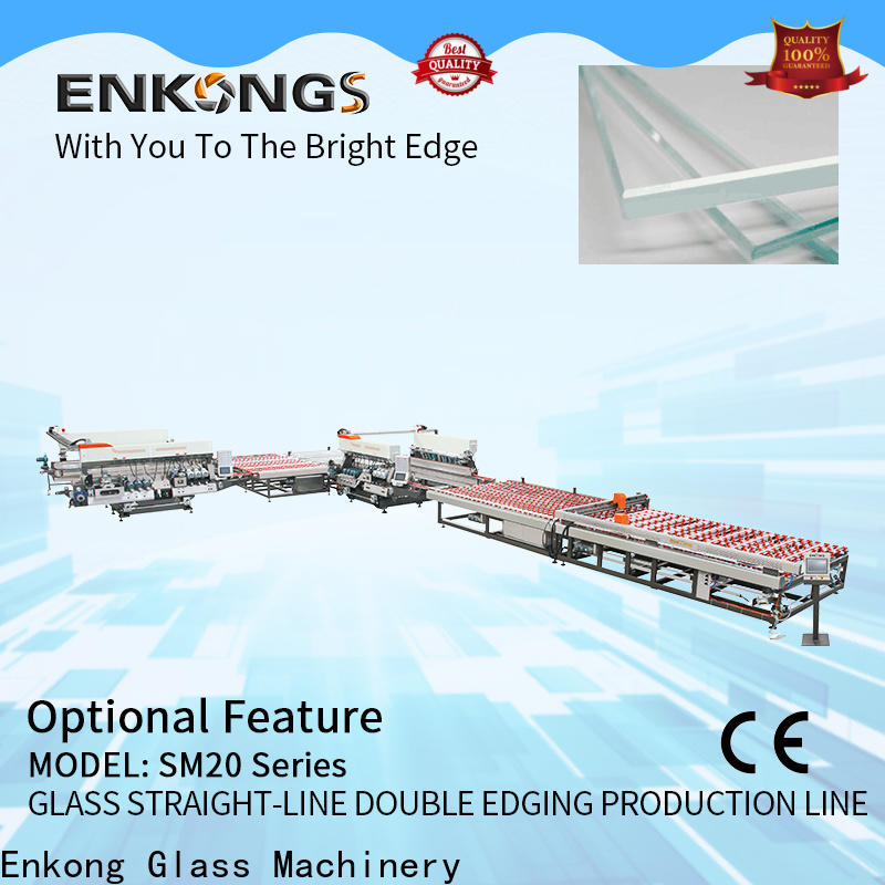 Best glass double edger SM 10 company for photovoltaic panel processing